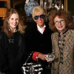 Countess Mona de Sayve, Ann Downey & Jennifer Garrigues.