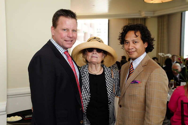 Tim Johnson, Leta Foster, &amp; Fernando Wong